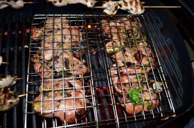 כבד עוף צלוי במרינדת קפירינייה