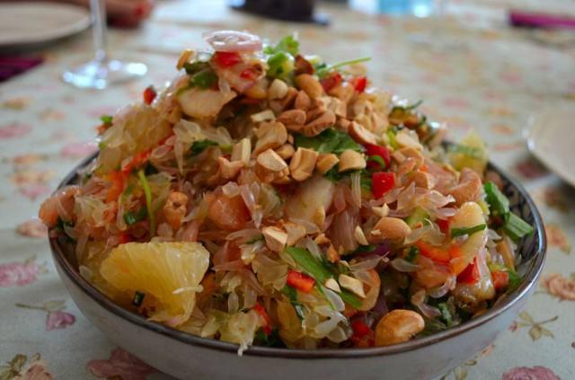 סלט פומלות תאילנדי